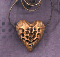 Honeycomb Heart 3 by DonSimpson