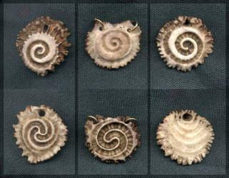 Three Antler Spirals