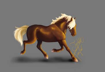 Running Pony by TyshellFroufrou