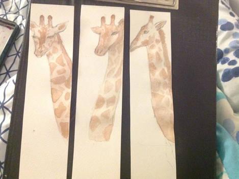 Giraffe Bookmarks