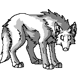 :FREE Pixel Wolf Base: by Vinabe