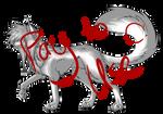 :P2U:Scene Dog Line-Art!: