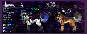 :Vinabe:Reference Sheet 2014: by h4lloween