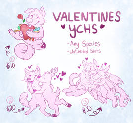 Valentines YCHs by Pepper-Head