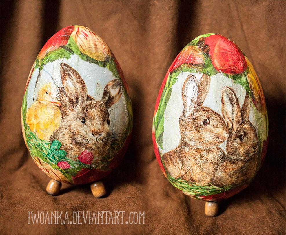 Bunny eggs 2 by iwoanka