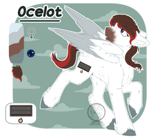 [Commission] Ocelot - Reference Sheet