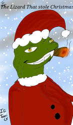 The Lizard That Stole Christmas