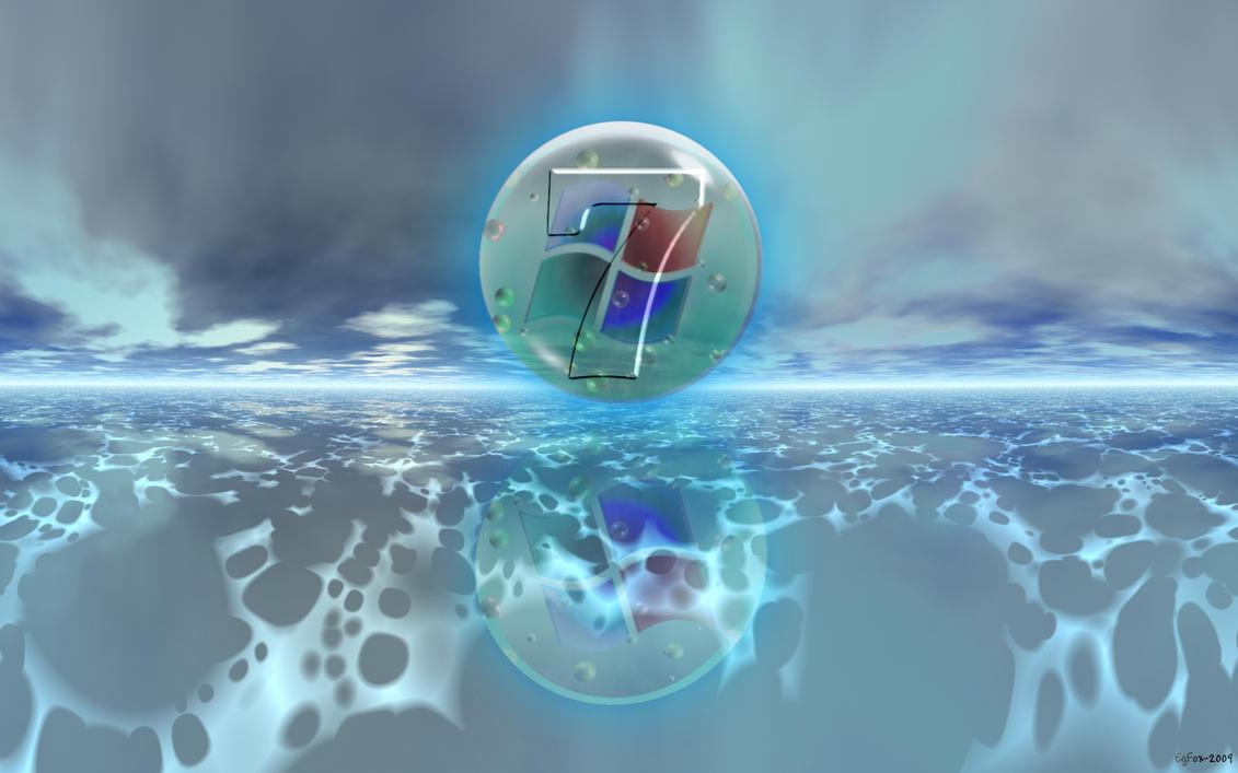 EgFox Windows Seven Blue by Eg-Art