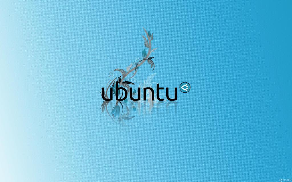 EgFox Ubuntu Blue HD 2010 by Eg-Art