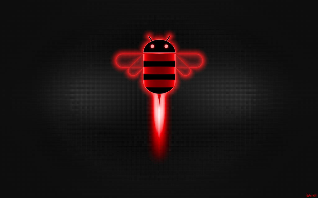 EgFox HoneyComb HD RED by Eg-Art