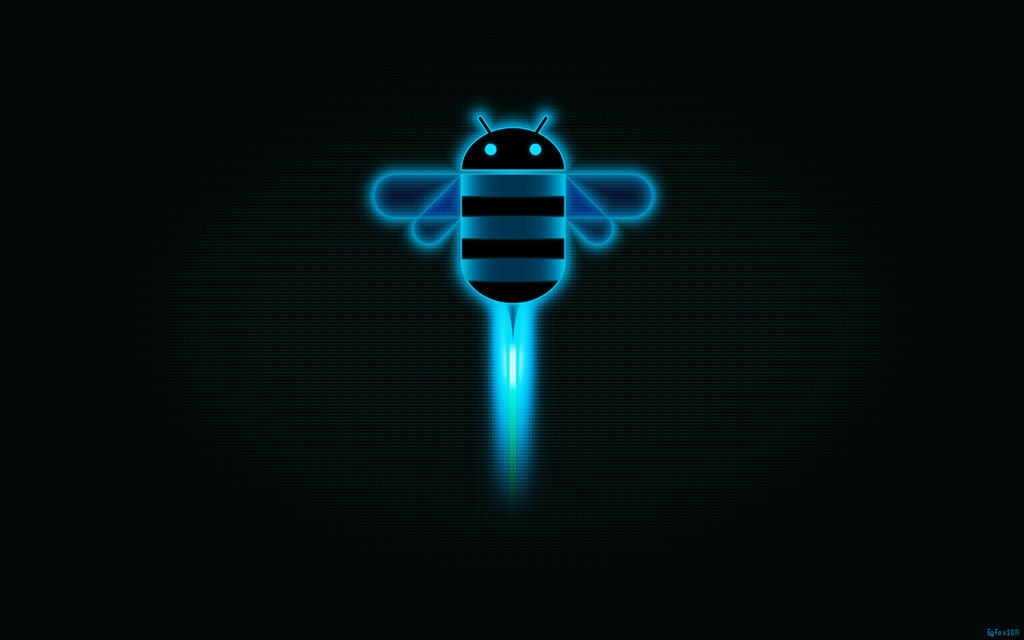 EgFox HoneyComb HD Blue 2 by Eg-Art