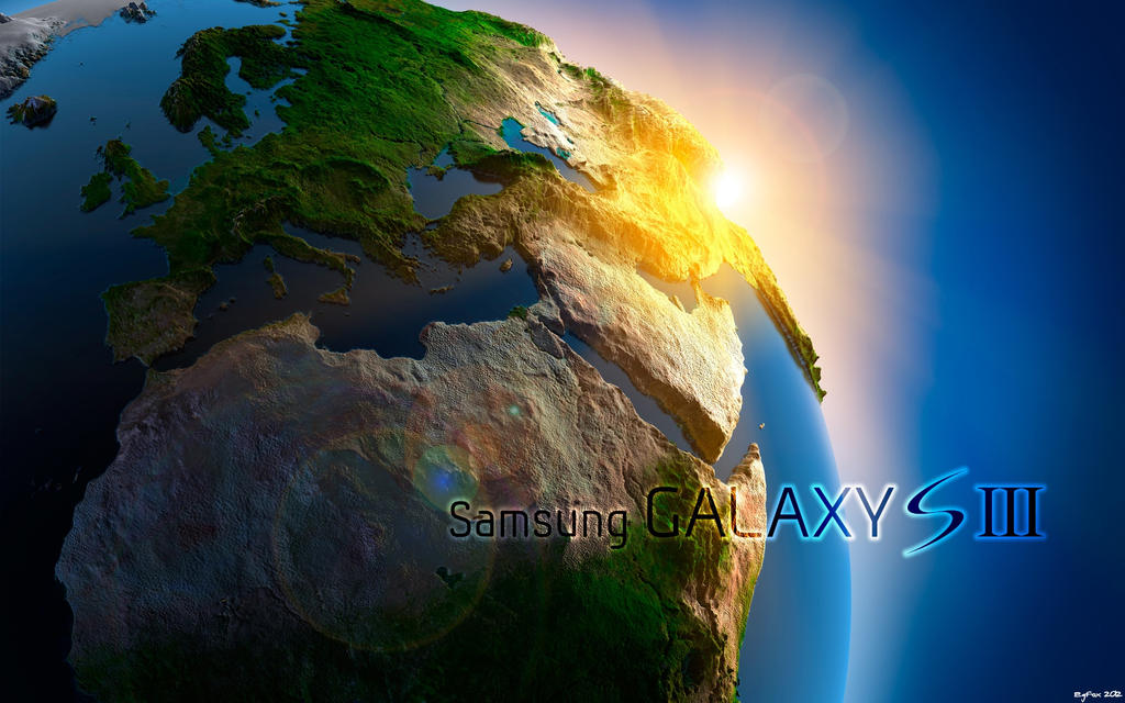 EgFox Galaxy SIII Earth Concept 2012 HD by Eg-Art