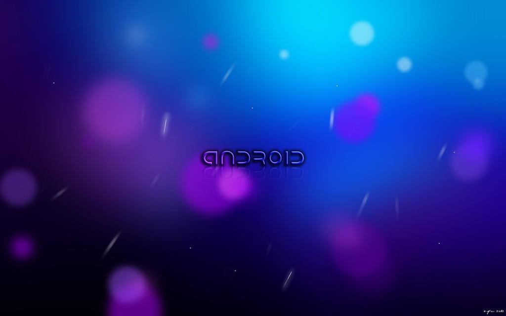 EgFox ICS BUBBLE Android HD 2012 by Eg-Art