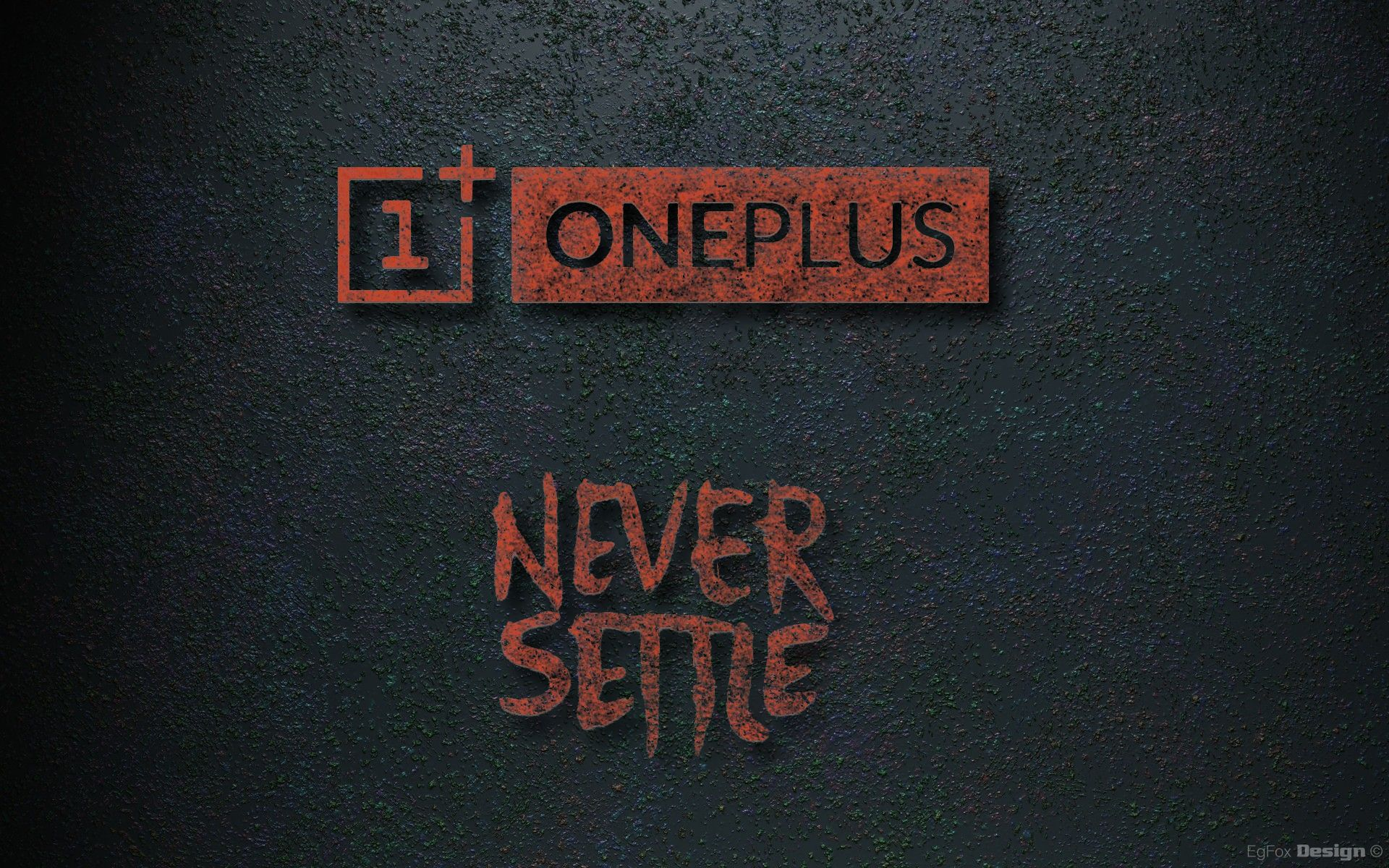 OnePlus One EgFox Design wallpaper HD by Eg-Art
