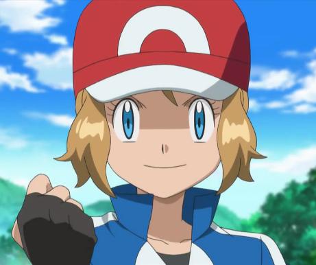 pokemon serena and ash