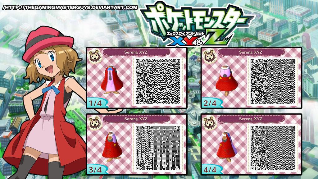 animal crossing new leaf qr codes pokemon clothes