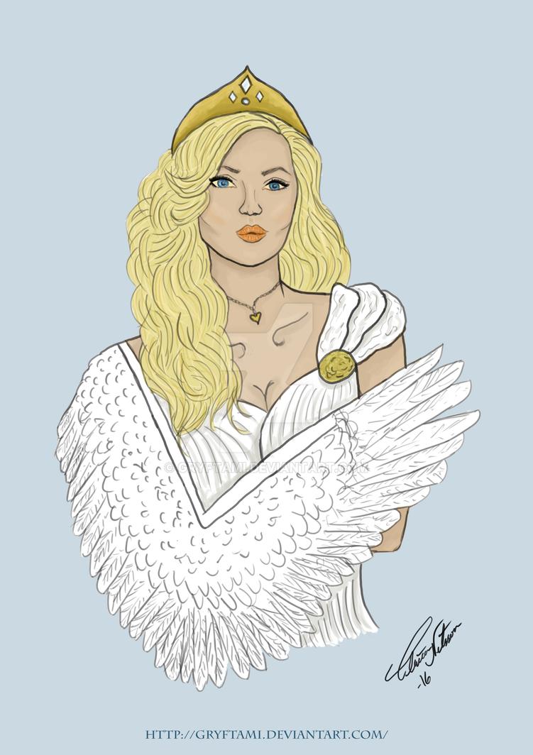 Odette - The Swanprincess by Gryftami