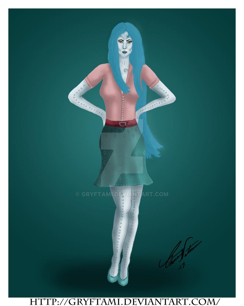 Anna - The Demon Doctor by Gryftami
