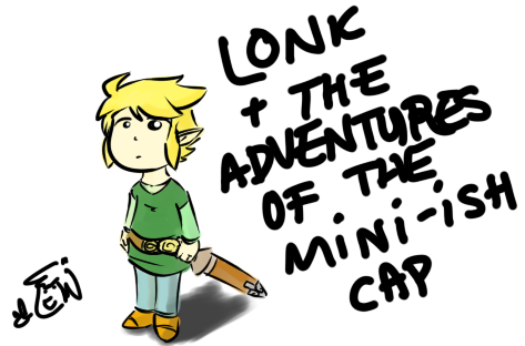 Lonk and the Mini-ish Hat by WhiteCrestAngel