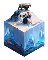 Fish Cube by kepperoni