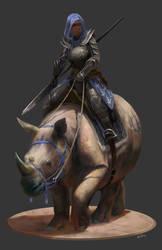 Rhino Rider by kepperoni