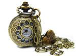 Brass Pocket Watch Necklace by pila12903