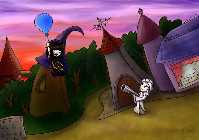 balloon by MousyDi
