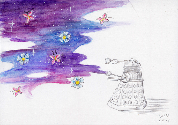 good dalek by MousyDi