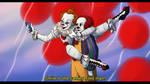 clowns selfie
