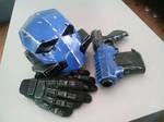 Armor concept helmet WIP III