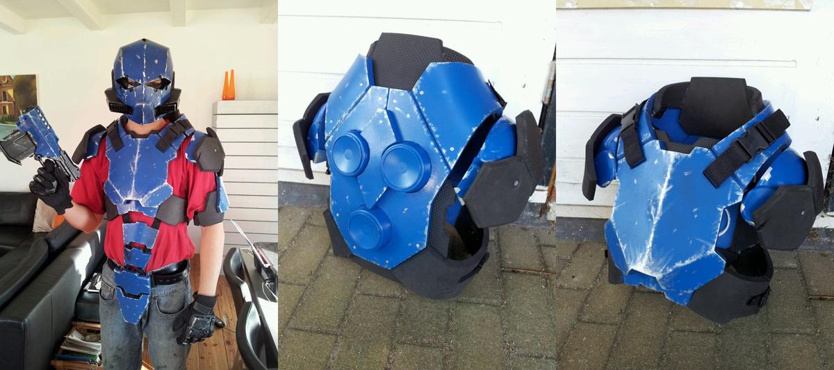 Armor concept WIP II by kaaskop
