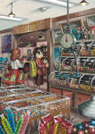 Dagashi-ya - Old-Fashioned Japanese Candy Store by FukikoT