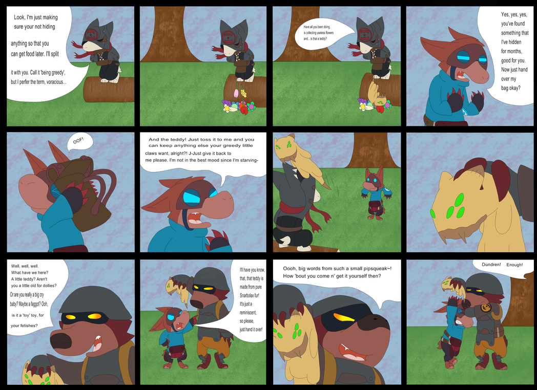 Tale Of Turexl Page 3 By Myuuthemew On Deviantart Is The Big Upgrade Good Enough