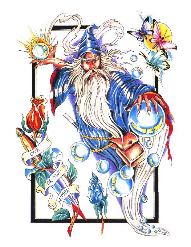 Wizard tattoo by flyingfalcon666 on deviantart for Wizard tattoo designs