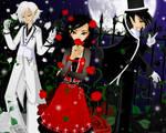 White - Red - Black
