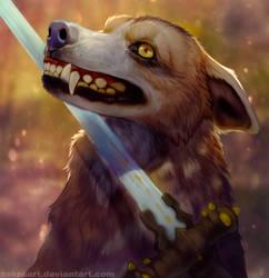 A really bad guy by ZakraArt