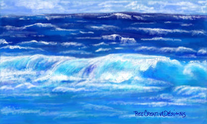Warm waters by REECREATIVEDESIGNS
