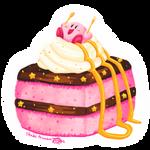Kirby Cake Square