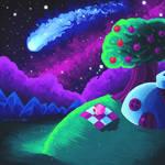 Kirby's Falling Star