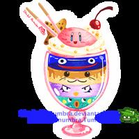Kirby Friend Parfait by ShadedPenumbra