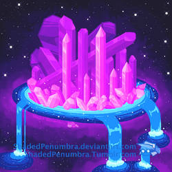 Crystal Space City by ShadedPenumbra