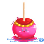 Kirby Candy Apple