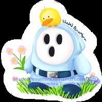Spring Shy Guy