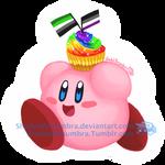 Pride Cupcake Kirby