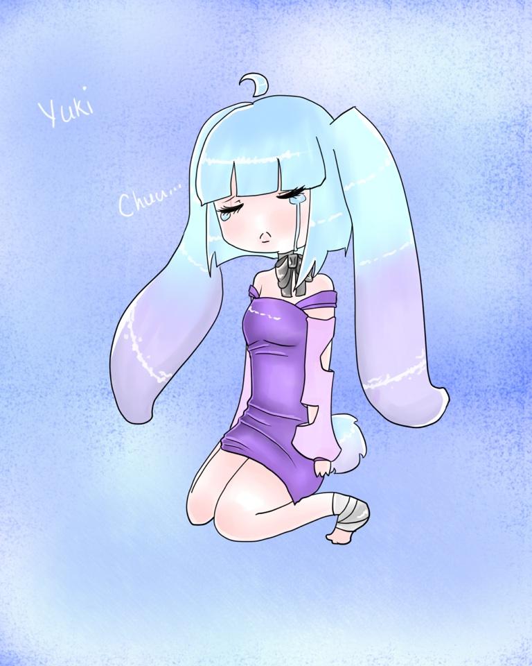 Yuki the Ice Bunny by Ask-Pryce