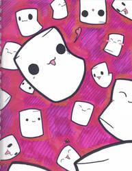 Dance of the Marshmallows by ruffledbird