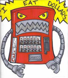 vending machine of DOOOOOOOOOM by ruffledbird