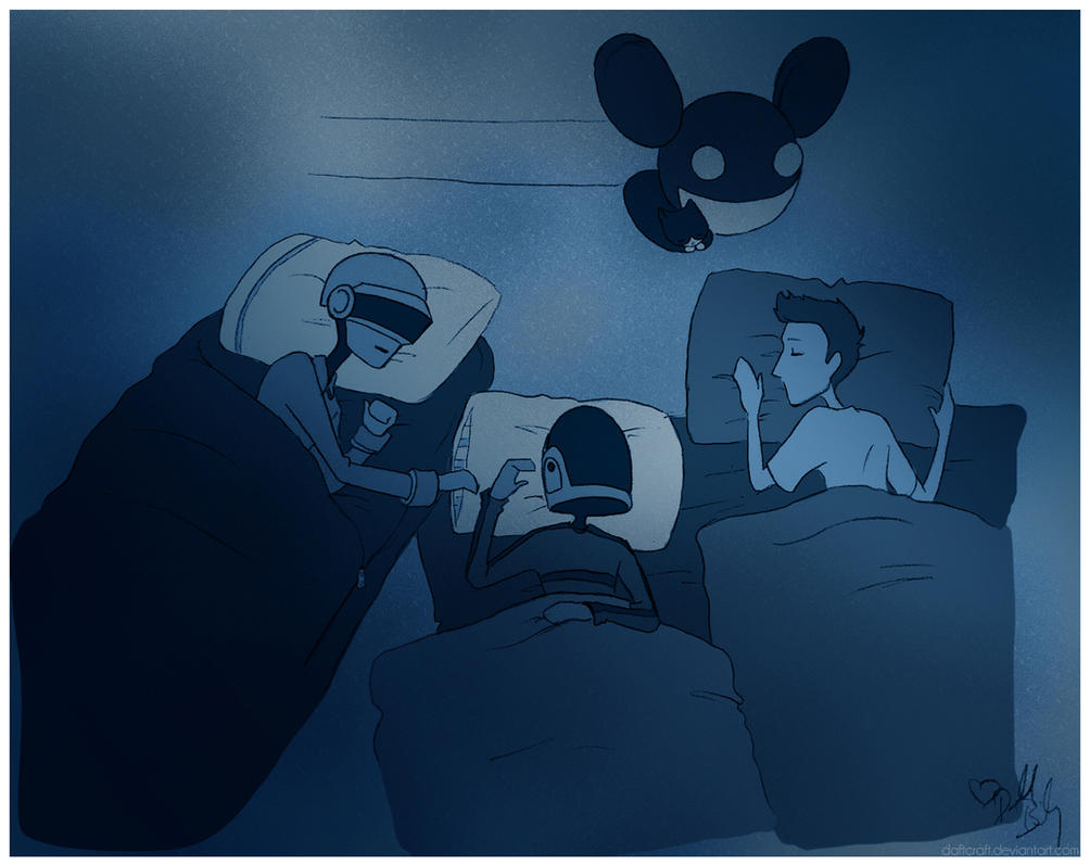 The Sleepover - Coda by daftcraft