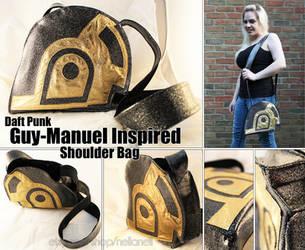 Guy-Manuel (Daft Punk) Shoulder Bag by daftcraft