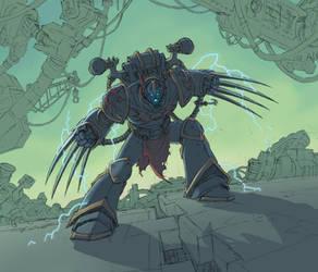 Night Lords Champion by warp-zero